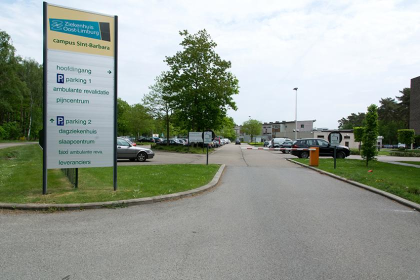 Betalend parkeren op campus Sint-Barbara