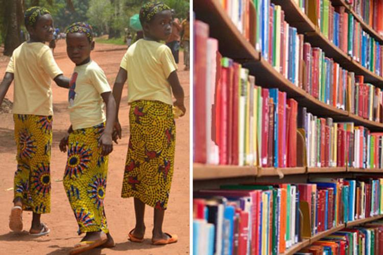 Boekenverkoop ten voordele van Bokonzi