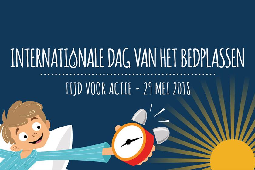Internationale Dag van het Bedplassen 2018