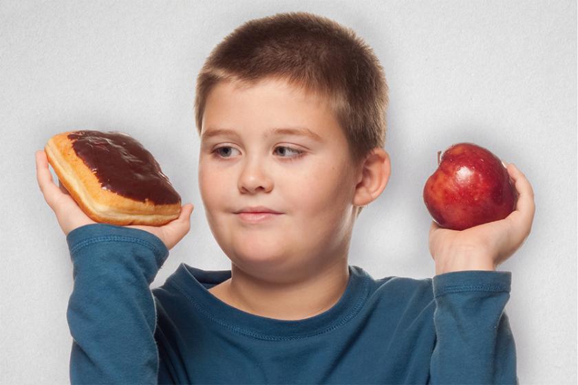 overgewicht kind met