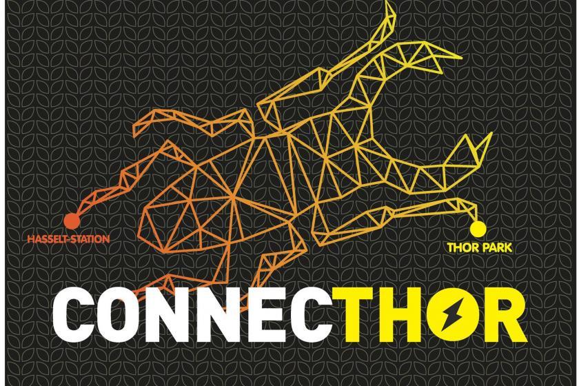 Nieuwe ConnecThor verbindt ZOL en Thorpark met Hasselt-Station