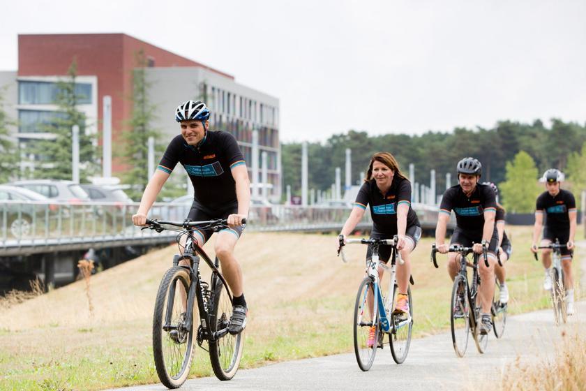 ZOL fietst op 24 mei