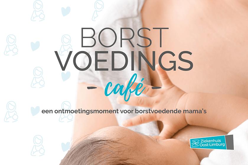 Dienst Materniteit organiseert borstvoedingscafé