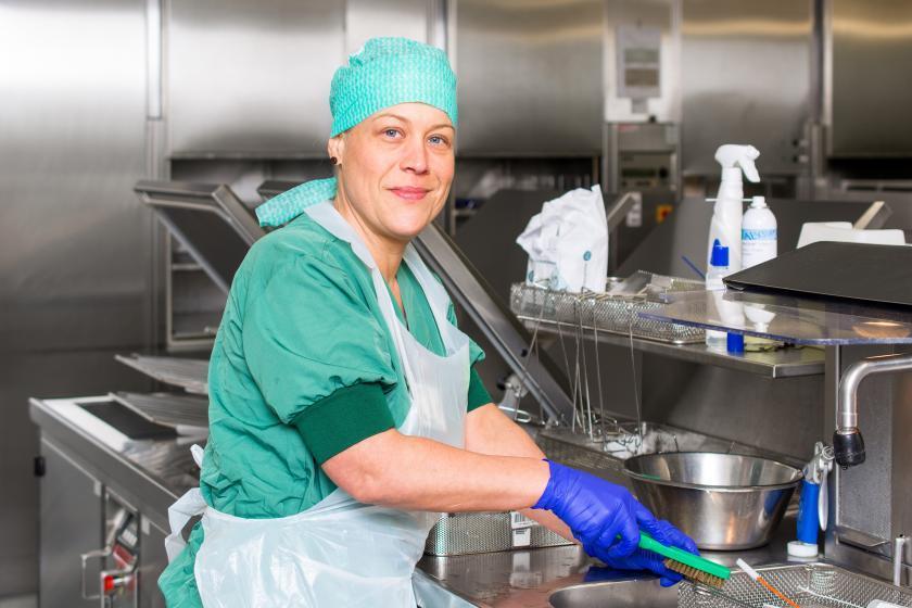 Een kijkje achter de schermen van onze dienst Centrale Sterilisatie