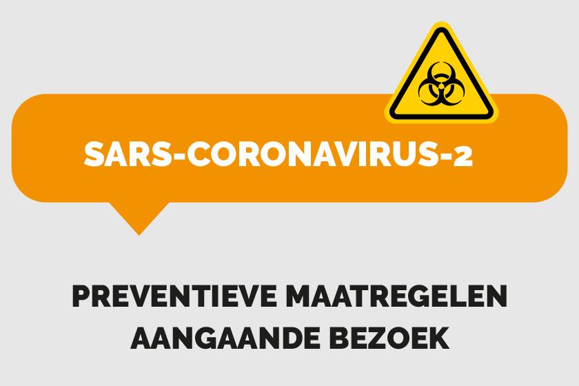 Preventieve maatregelen aangaande patiëntenbezoek omwille van het SARS-coronavirus-2