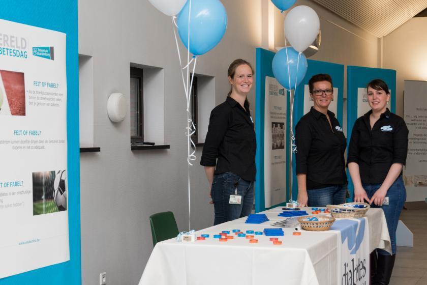 Diabetescentrum ZOL neemt deel aan 'Werelddiabetesdag'