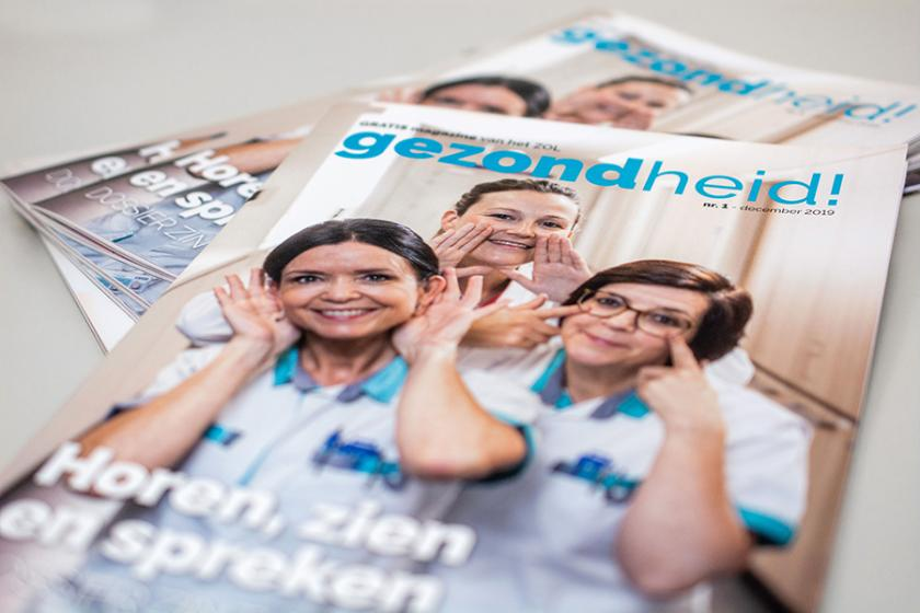 Nieuw patiëntenmagazine van het ZOL: 'gezondheid!'