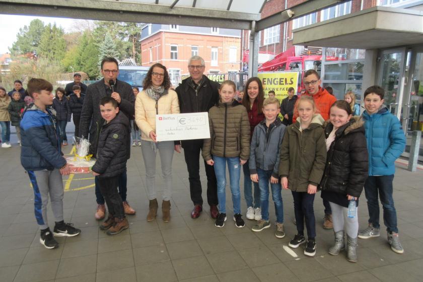 Partnerziekenhuis van het ZOL ontvangt 3.640 euro van school Paleis
