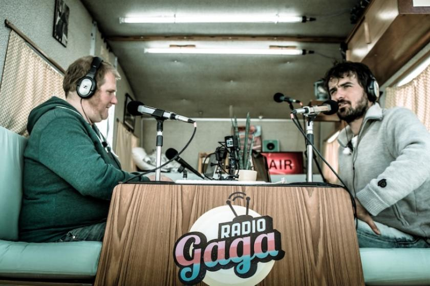 Radio Gaga op campus Sint-Jan
