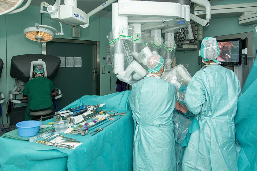 Nieuwe deelsite Robotchirurgie