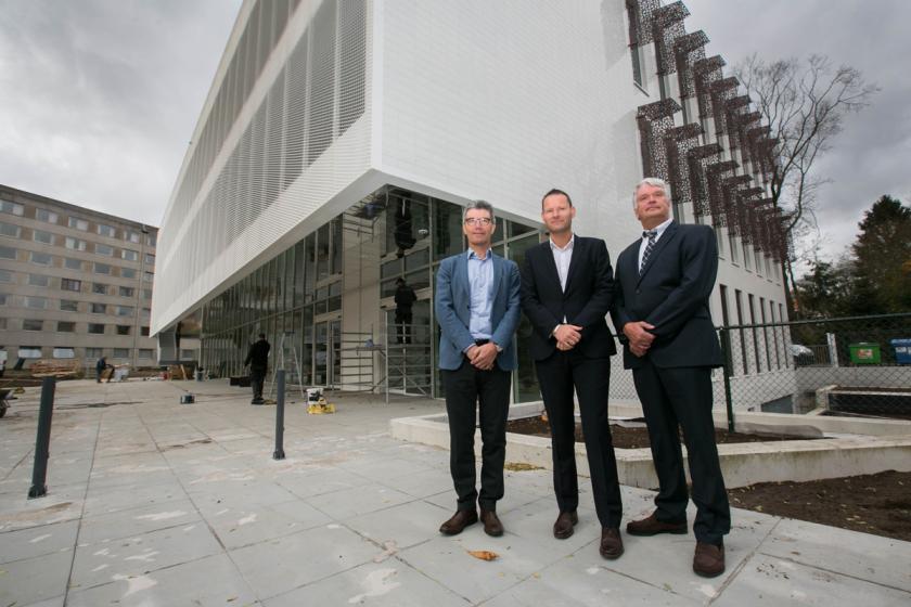 Medisch Centrum André Dumont ontvangt eerste patiënten