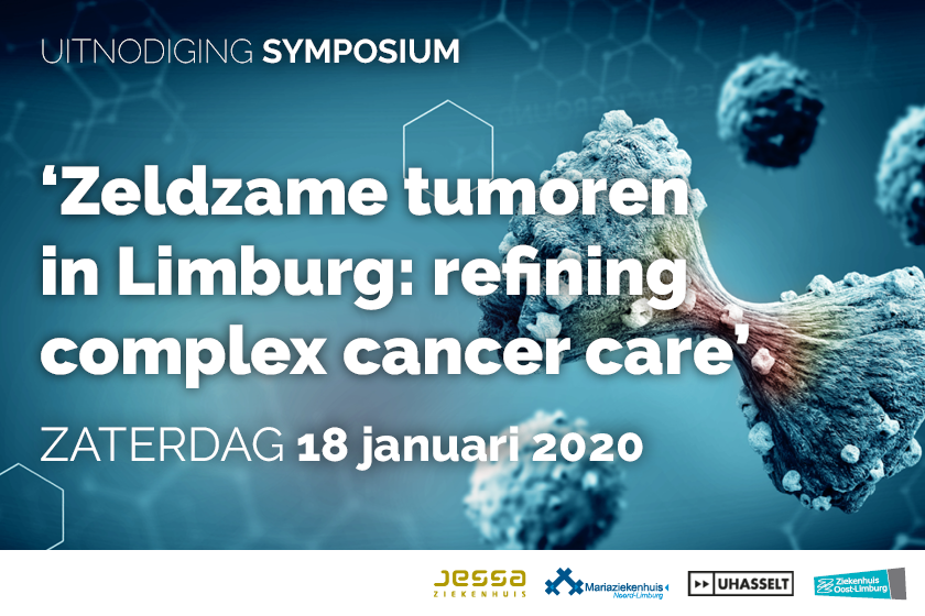 Symposium 'Zeldzame tumoren in Limburg: refining Complex Cancer Care'.