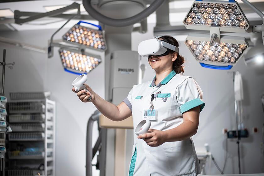 ZOL gaat verpleegkundigen opleiden met Virtual Reality