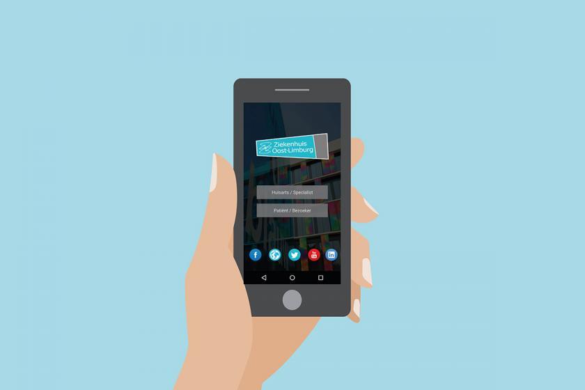 ZOL-app beschikbaar in de Android playstore en iOS Appstore