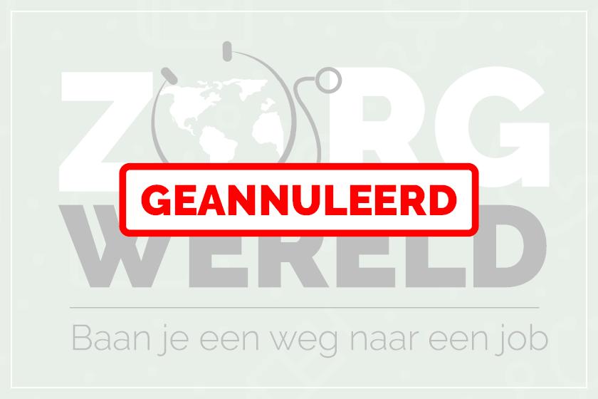 Info over werken in het ZOL en bij het Wit-Gele Kruis tijdens Zorgwereld op 27 maart